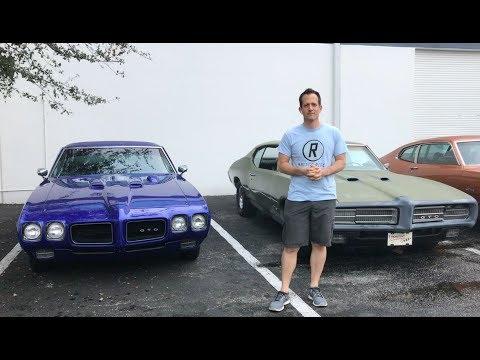 Why is the Pontiac GTO a TRUE muscle car? 1969 & 1970 Pontiac GTO - Raiti's Rides