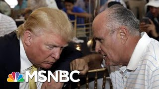 House Releases New Letter From Rudy Giuliani To Ukrainian President | All In | MSNBC