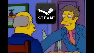 Steamed Hams but everything is steamed