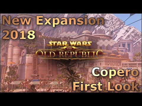 "New Expansion For 2018 | Copero First Look | Server Name ""The Hot Prospect"" Changed - SWTOR News"