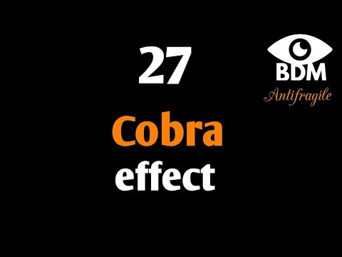 the cobra effect people take the When the economic recession hit in 2008, more older people lost their jobs and opted for cobra coverage without thinking to sign up for medicare part b—and are only now facing the consequences.
