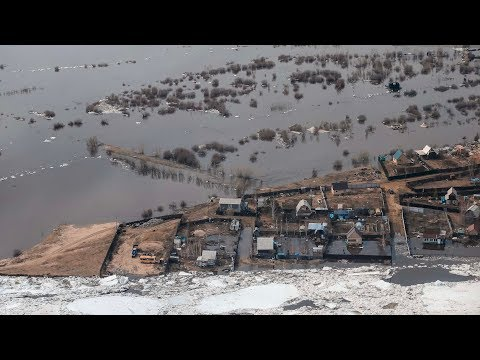 Паводки в Якутии.