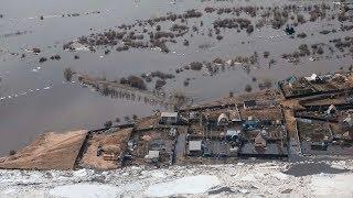 Паводки в Якутии. Режим ЧС, Лена вышла из берегов