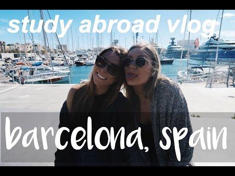Barcelona Study Abroad Vlog | Clubbing, Tapas, & More!