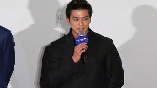 今年5月に改名したばかりの俳優・新田真剣佑が5日、TOHOシネマズ六本木...