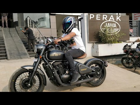 Jawa Perak First Ride Review | The perfect Bobber