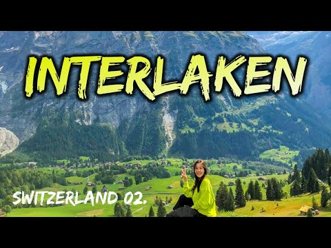 ????????[ENG] 인터라켄 Vlog (4K) 완벽한 날씨 그림같은 뮤렌, 그린델발트, 쉴트호른, 블라우제, 스위스패스 활용법[주히의 세상구경]