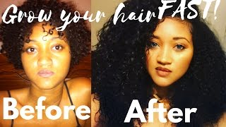 How to Make Your Hair Grow Faster |There's a Formula? Come Sip this Tea | Grow Long Healthy Hair thumbnail