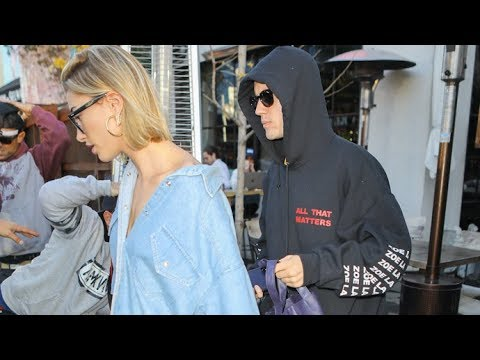 Justin Bieber And Hailey Baldwin Cause Chaos On Melrose After Postponing Wedding