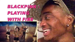 BLACKPINK - PLAYING WITH FIRE MV ALAZON EPI 117 REACTION