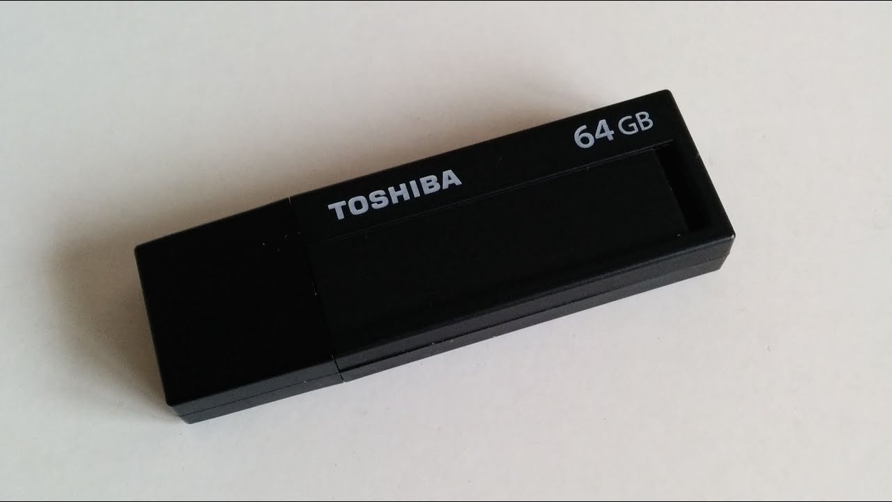 TOSHIBA TransMemory Black USB 3.0 64GB Pen Drive Review - YouTube