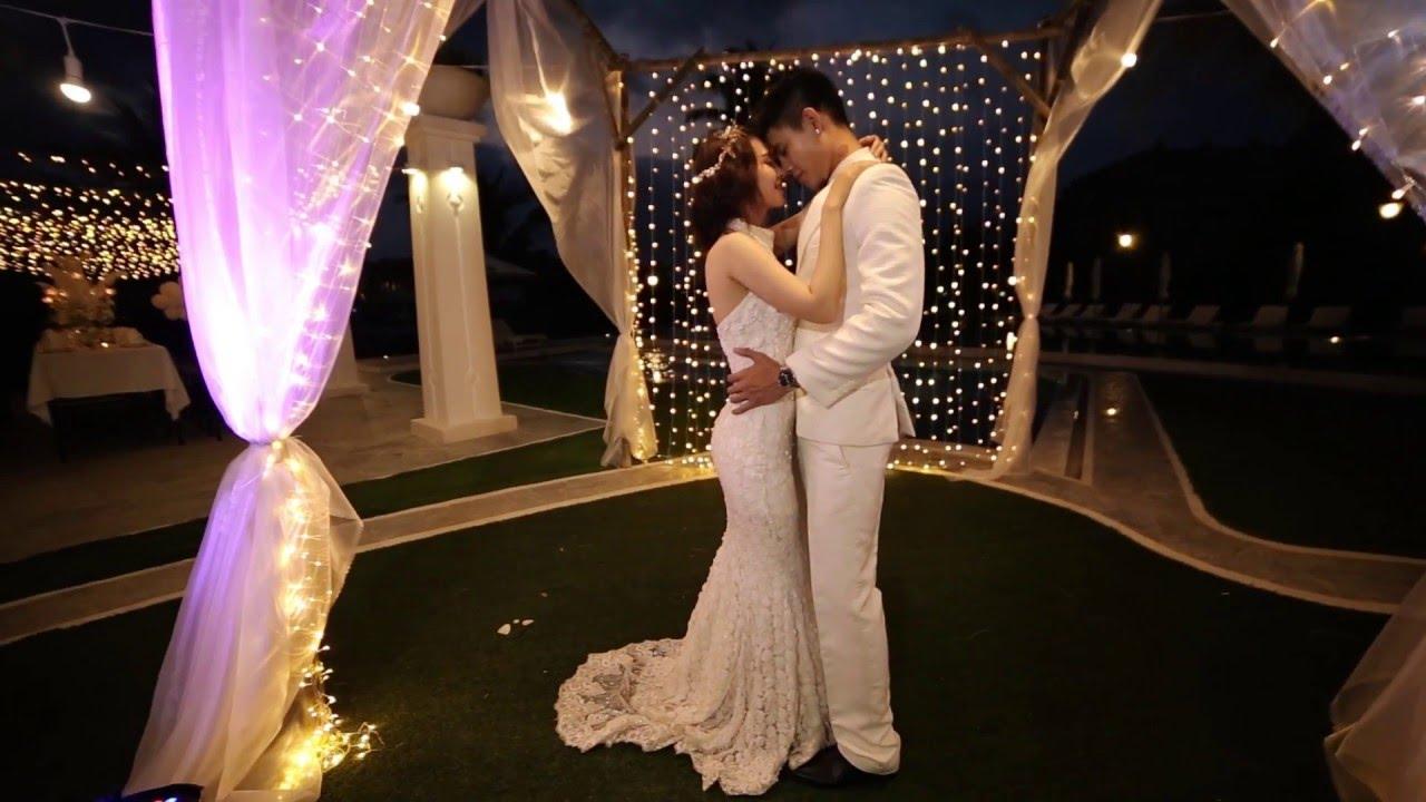Tiệc cưới hồ bơi tại Nha Trang – Champa Island Swimming Pool Wedding