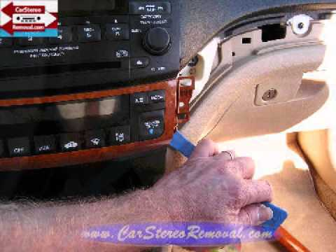 Acura TSX Stereo Removal