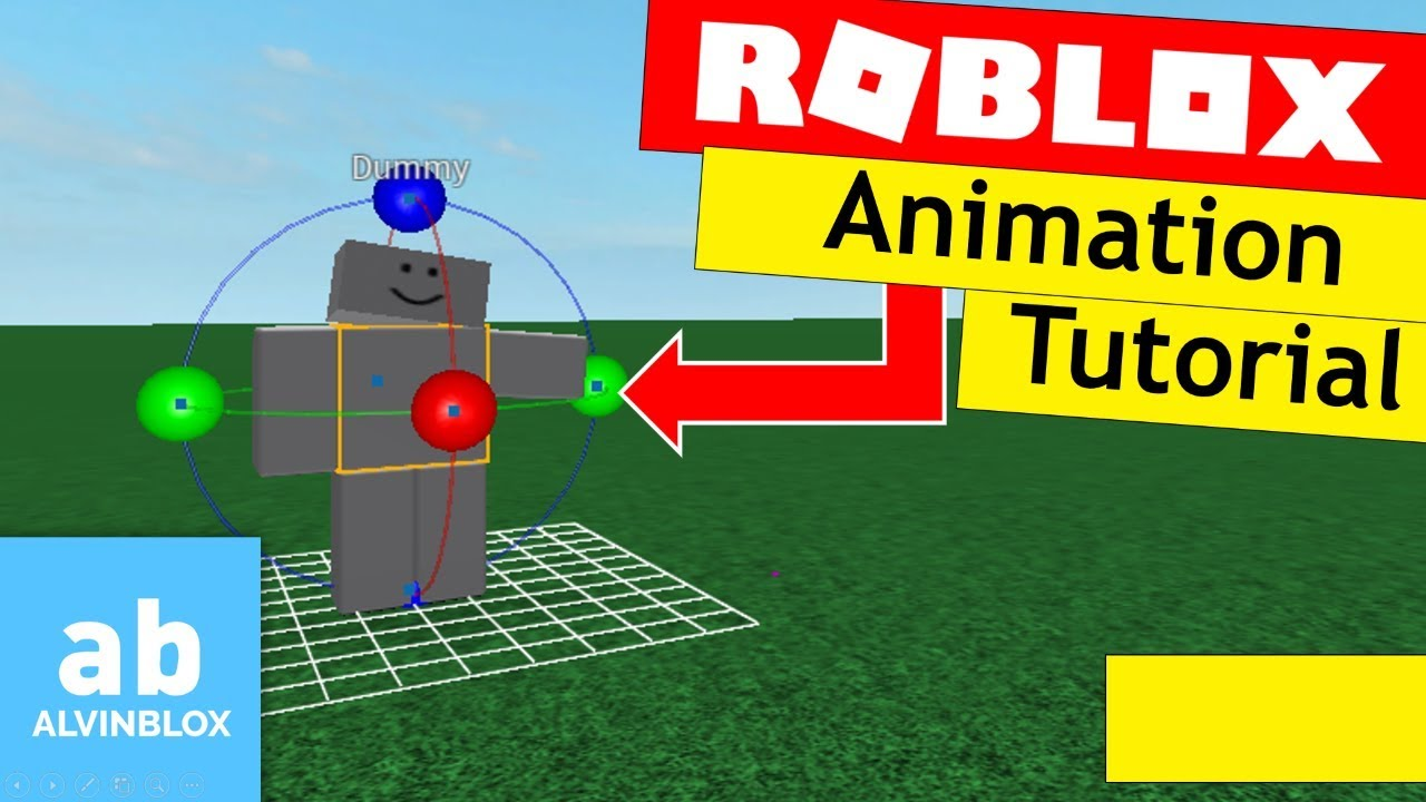 how to animate roblox 2018