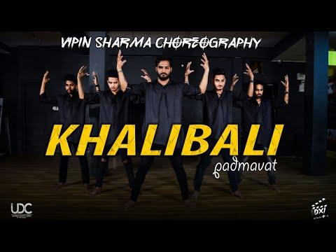 'KHALIBALI' Dance Choreography: Padmaavat| Vipin Sharma Choreography| Ranveer singh- Deepika- Shahid