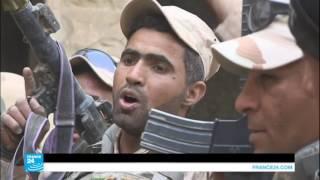 فريق فرانس24 يرافق الفرقة المدرعة في بلدة كرمليس شرقي الموصل