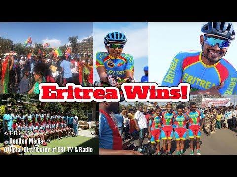 ERi-TV: Eritrea Wins African Continental Road Championship - ሃገራዊ ጋንታ ብሽግሌታ ኤርትራ ሰዒራ