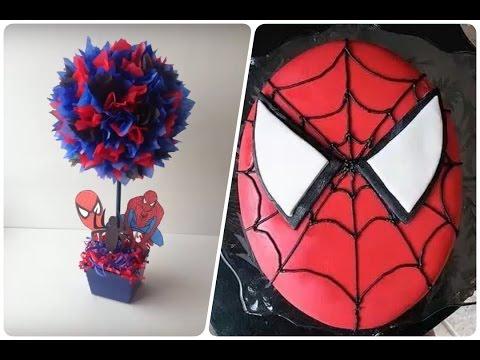 Decoración De Fiestas Infantiles De Spiderman Hombre Araña Happy Birthday Youtube