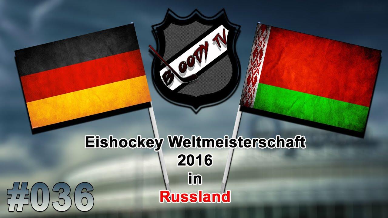 Eishockey Wm 2016 036 Deutschland Weissrussland Let S Play Iihf 2016