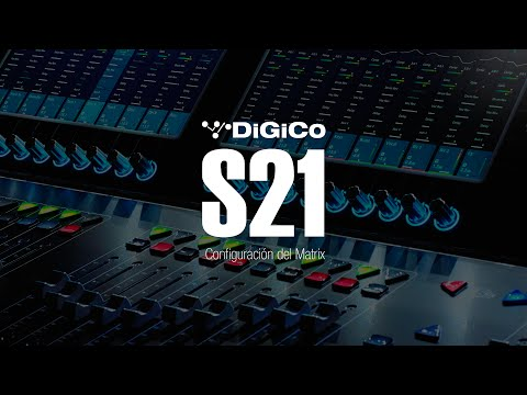 DiGiCo S21 - Matrix