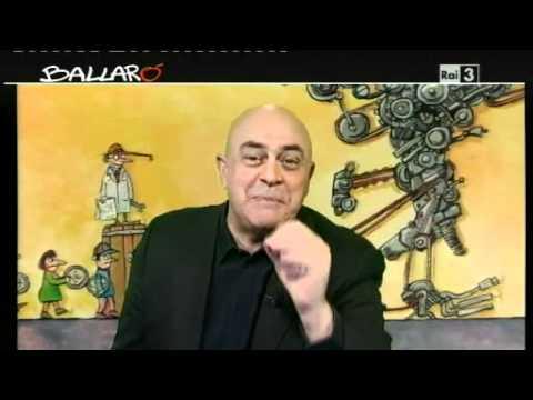 """Maurizio Crozza """"Il Pd come la Falqui... basta la parola!"""" - Ballarò 06/03/2012"""