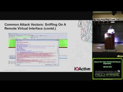 204 Beyond The Cript Practical iOS Reverse Engineering Michael Allen