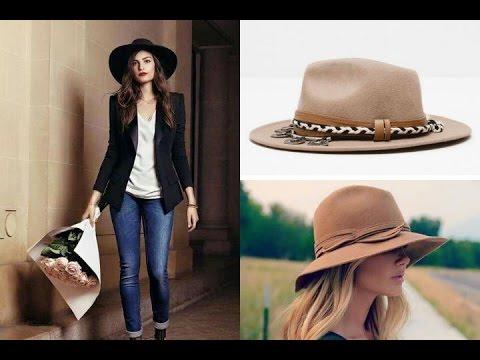 064d059d OUTFITS con sombrero | cómo llevar y combinar sombrero tendencias 2018  #streetstyle