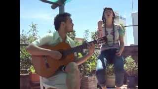 Niña camba (Cesar Espada) - Cover por Garzas viajeras (Lucia Depaoli y Pedro Luyo).