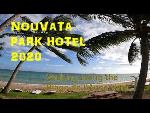 Nouvata  Park Hotel / Walking Along The Anse Vata Beach/Noumea/Windsurfing/Gopro 8/4k Video/holiday