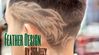 Feather haircut images