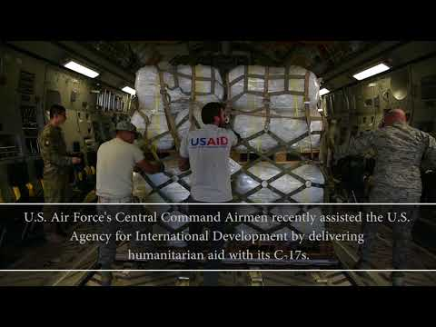 Coalition helps USAID deliver humanitarian aid