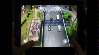 Reckless Racing 2 on the iPad 2 Game Play