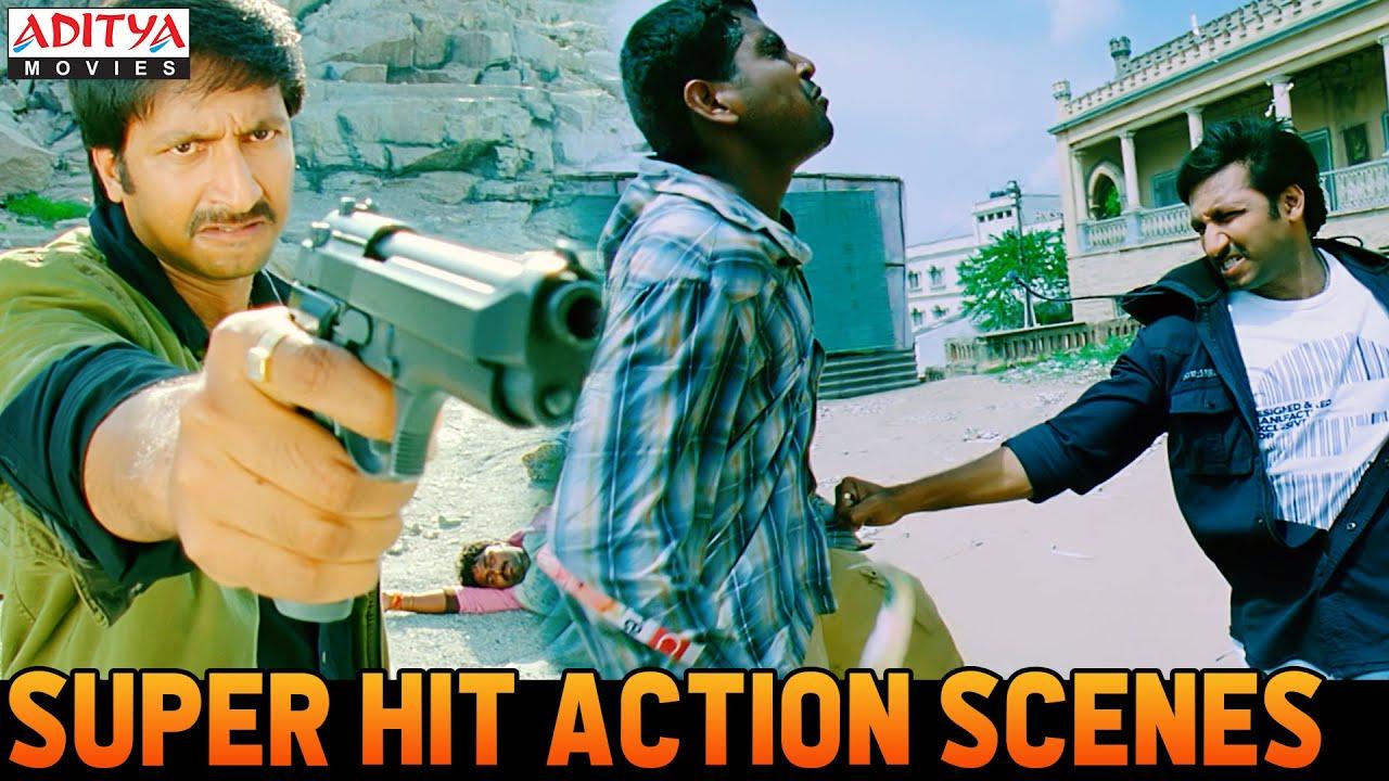 "Gopichand Super Hit Action Scenes From ""Janbaaz Ki Jung"" Hindi Dubbed Movie   Aditya Movies"