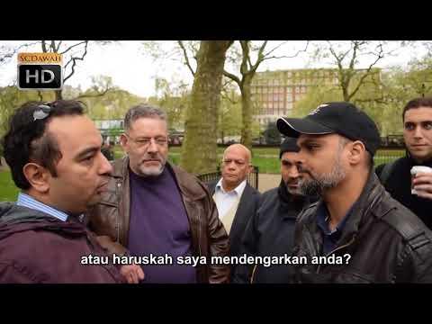 Tuhan Tidak Tahu! Hashim vs Christian Speakers Corner Hyde Park