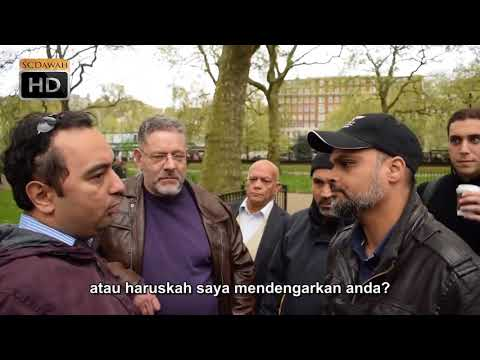 Tuhan Tidak Tahu! Hashim vs Christian Speakers Corner Hyde Park