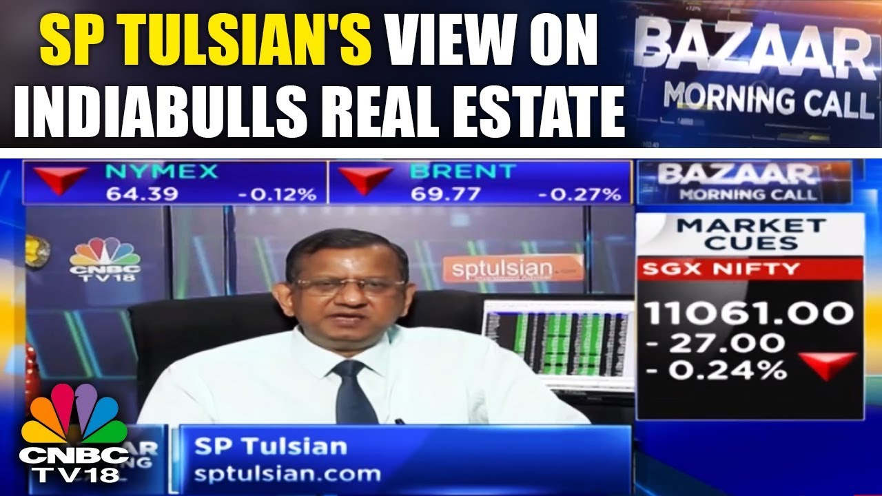 SP Tulsian's View on Indiabulls Real Estate, United Spirits, PNB Housing ||  CNBC TV18