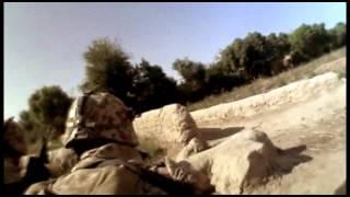 Danske soldater omringet af Taleban