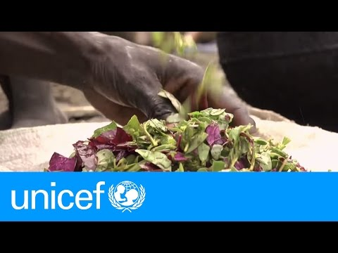 We are eating grass because there is no food. – South Sudan | UNICEF