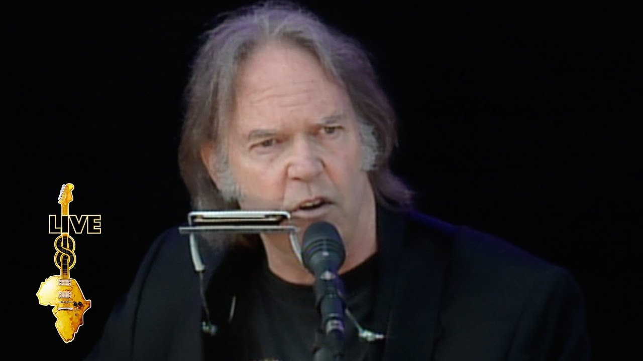 neil young four strong winds live 8 2005 youtube. Black Bedroom Furniture Sets. Home Design Ideas