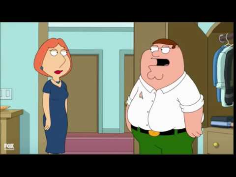 Family Guy - Lois Beats Up Peter !