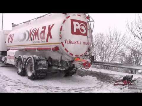 Silivri'de Tem Otoyolunda Trafik Kazası