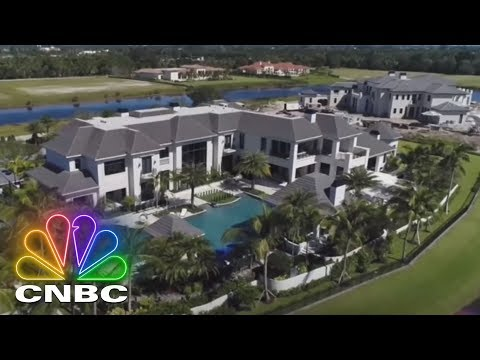 Secret Lives Of The Super Rich: Delray Beach Mega-Home Inspired By Bali Four Seasons | CNBC Prime