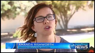 Ten Eyewitness News - 3 February 2018 - Preschool funding for four year olds