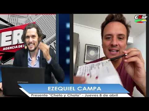 Ezequiel Campa presenta Cheto y Choto: Laburar está sobreestimado
