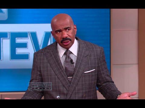 Ask Steve: He's A Man – He's Actually Stupid    STEVE HARVEY