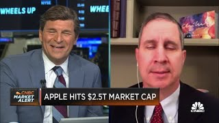 Apple stock soaring due to accelerated sales and revenues: Citi's Jim Suva