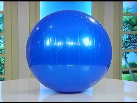 Balon de Pilates profesional de 65 cm - YouTube f47d395bb3e4