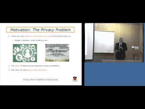 Games, Privacy and Distributed Inference for the Smart Grid - Vincent Poor - Technion lecture