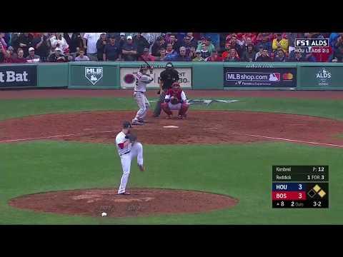 Josh Reddick Go-Ahead RBI Single vs Red Sox | Astros vs Red Sox Game 4 ALDS