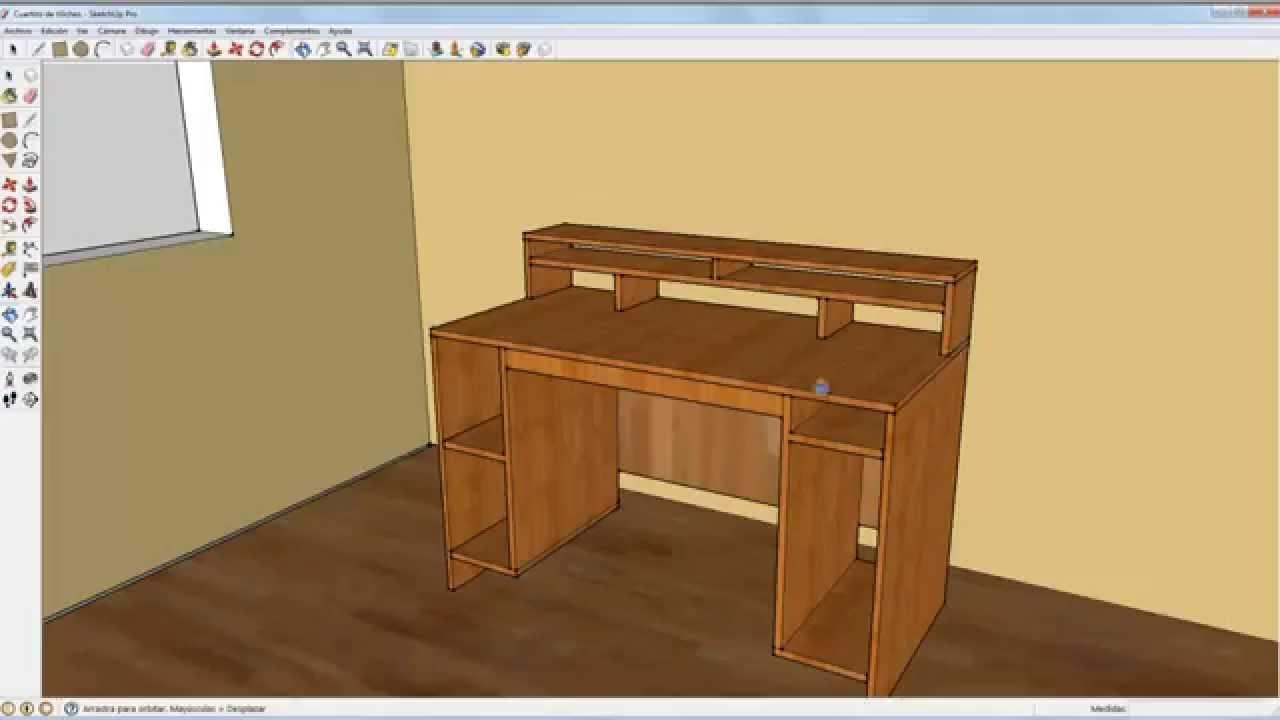 Como hacer una mesa de grabaciones mesa de estudio youtube - Como hacer una mesa de ordenador ...